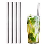 glass drinking straw 23 cm