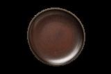 JUNTO Teller flach Ø 30 cm, bronze