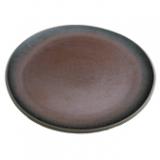 JUNTO Teller flach Ø 27 cm, bronze