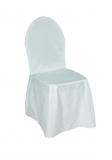 cover for banquet chair, white, B1 (ironed)
