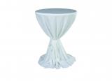 Stehtischhusse, weiß,  für Tisch Ø 80/85 cm