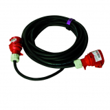 power cable 10 meters, 400 V, CEE 16