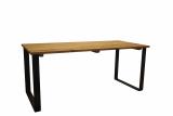 dinner table OLD OAK STEEL