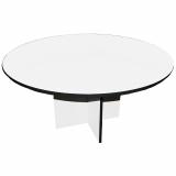 Tisch BRIDGE ROUND, weiß, Ø 150 cm