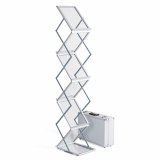 brochure stand EASY, 5 x DIN A4