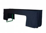 Husse für Biertisch Standard, schwarz, ausgeschnitten