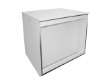 buffet counter, white, without counter top, illuminated
