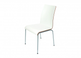 chair ZOE, white with white pad
