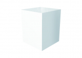 pillar for cooking station, white