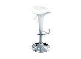 barstool ZARA, white, height-adjustable