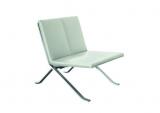 Stuhl X, Loungesessel, weiß