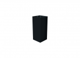 deco plinth 50, black