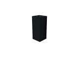 deco plinth 45, black