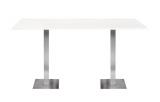 bar table X, white