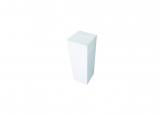 deco plinth 50, white