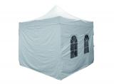 folding pavillion (easy-up-tent) GRANDE, whitem, 400 cm x 400 cm